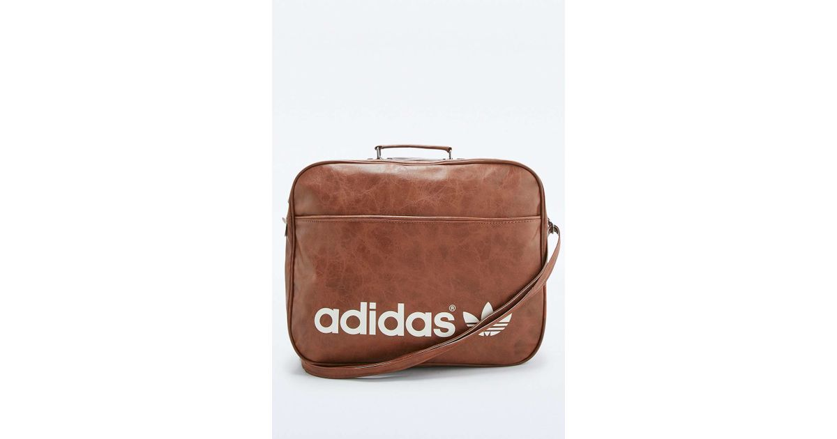 05ab35c3447f adidas Originals Brown Vintage Airline Bag in Brown for Men - Lyst
