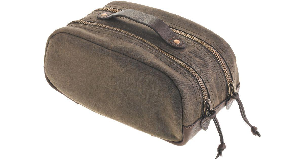 6748c37c5310 Lyst - J.Crew Abingdon Travel Kit in Green for Men