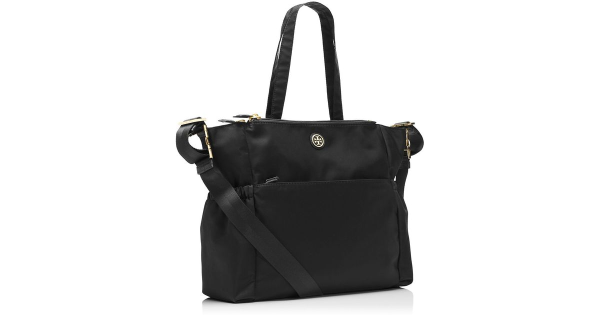 1432b016341e Lyst - Tory Burch Travel Nylon Baby Bag in Black