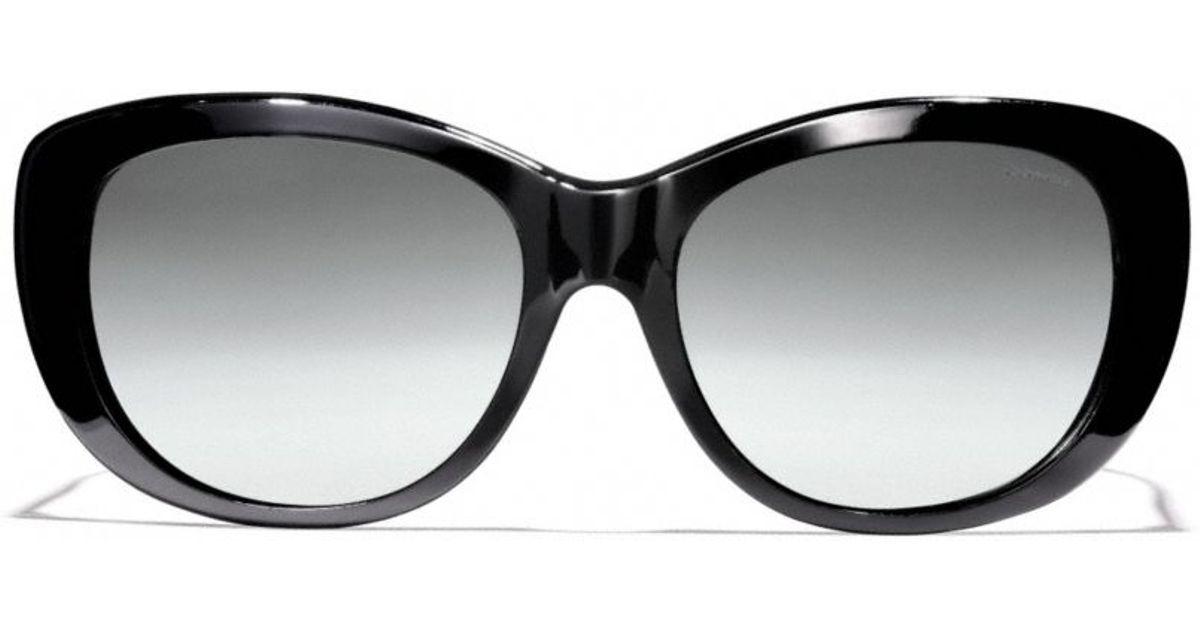 abec6550ce ... purchase lyst coach darcy polarized sunglasses in black 8ed4b 4c1c1