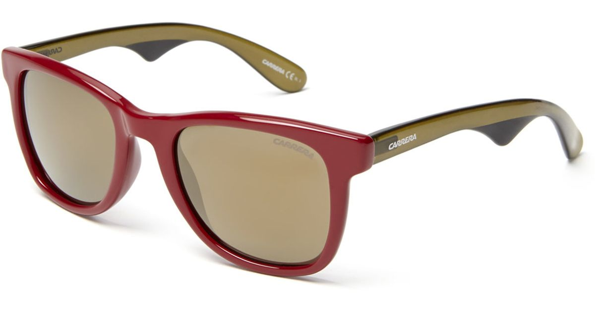 693c29592a27 Lyst - Carrera Red 6000/S Wayfarer Sunglasses in Red for Men