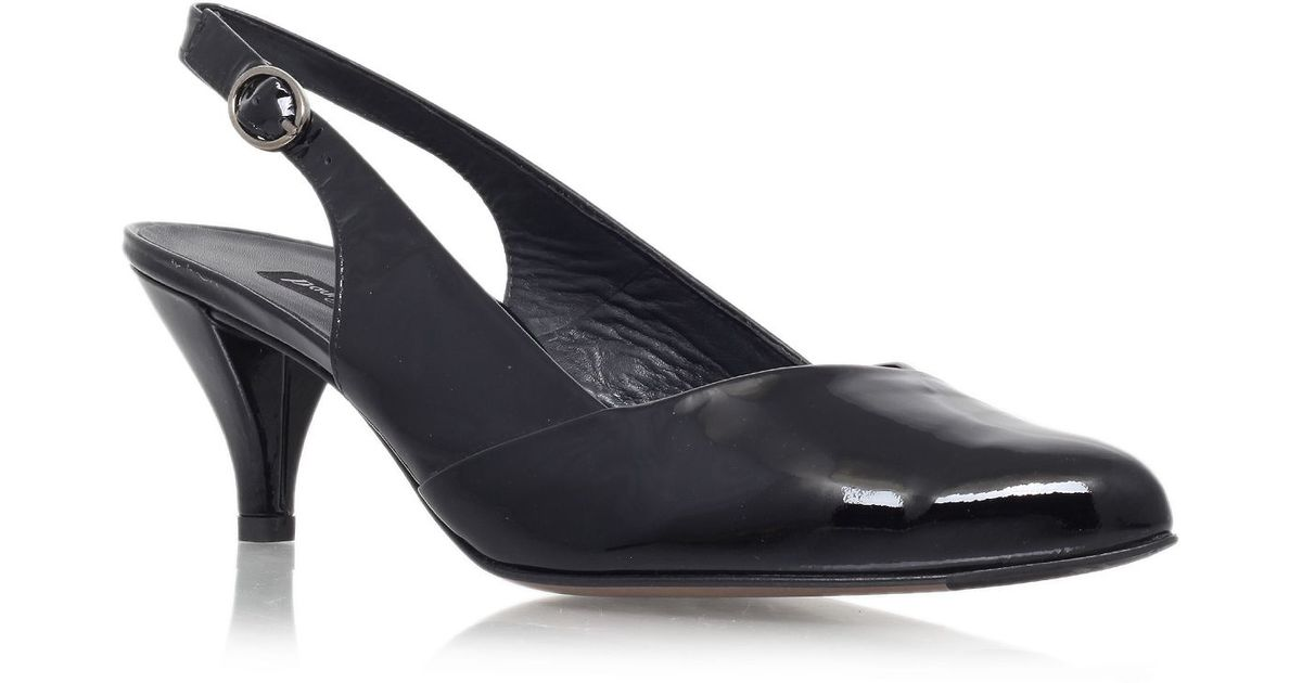 Zappos Womens Black Sling Back Shoes