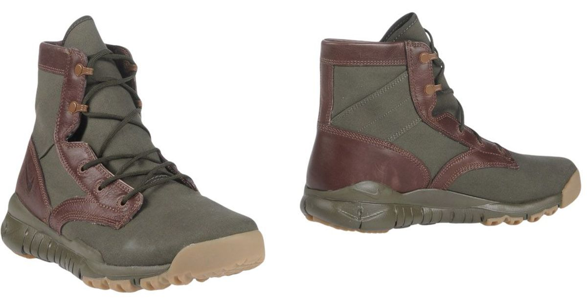 Nike Ankle Boots In Green For Men Lyst