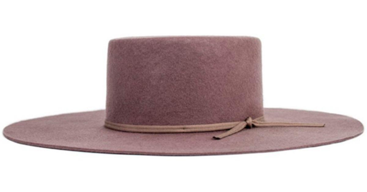 90240ea70a286 Brixton Buckley Hat in Brown - Lyst