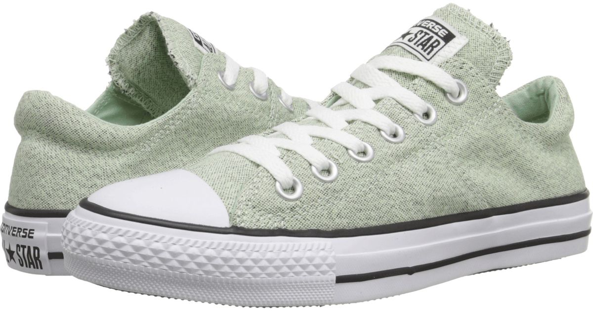 8c8cc890d5671 Lyst - Converse Chuck Taylor® All Star® Madison Heathered Canvas Ox in  Natural