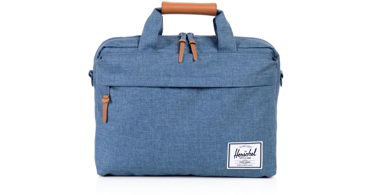 Lyst - Herschel Supply Co. Clark Messenger Bag in Blue for Men 969235998cd15
