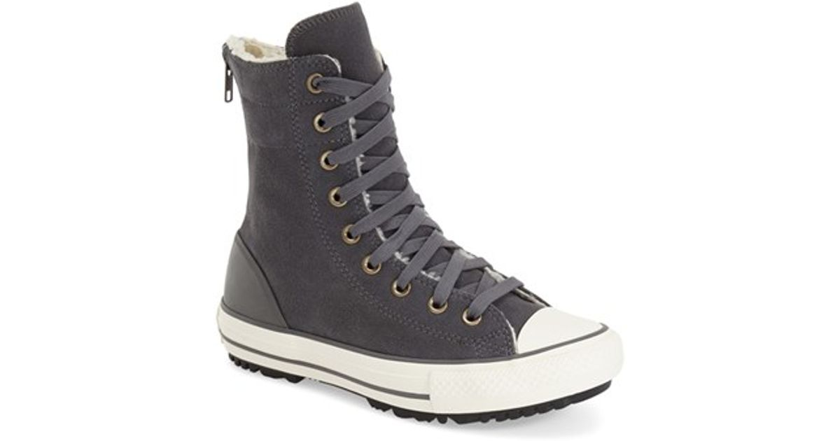 4182a1d697c921 Lyst - Converse Chuck Taylor All Star  hi-rise  Sneaker in Gray