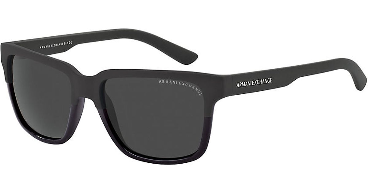 0526869692d Armani Exchange Wayfarer Sunglasses