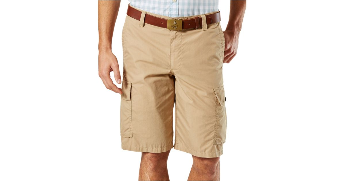 Dockers Lightweight Cargo Shorts In Beige For Men Light