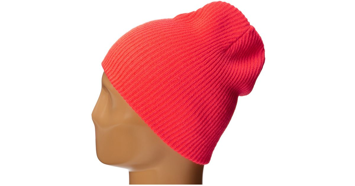 89c2a64c5ba Lyst - Neff Daily Beanie in Red