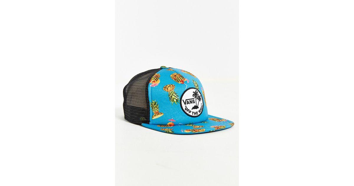 57607e66d79 Lyst - Vans Surf Patch Trucker Hat in Blue for Men