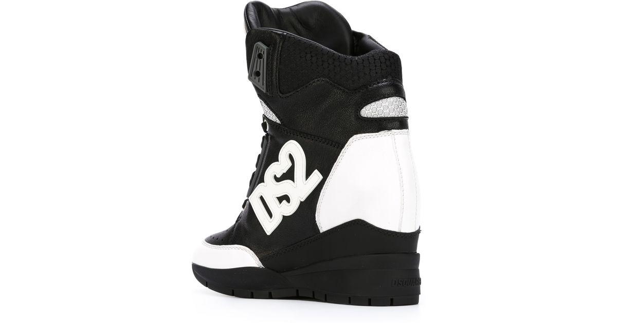 780dd6da4e7 Lyst - DSquared² Ds2 Hi-top Sneakers in Black
