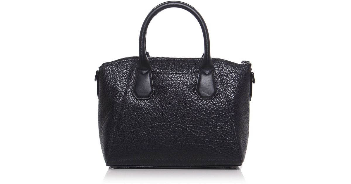 7910ecc5de7e1 Lyst - MICHAEL Michael Kors Campbell Satchel Bag in Black