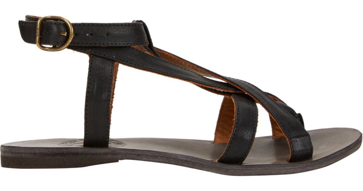 Florentini + Baker Leather Multistrap Sandals limited edition online cheap sale get authentic buy cheap fashion Style cheap sale order JokKiSXN