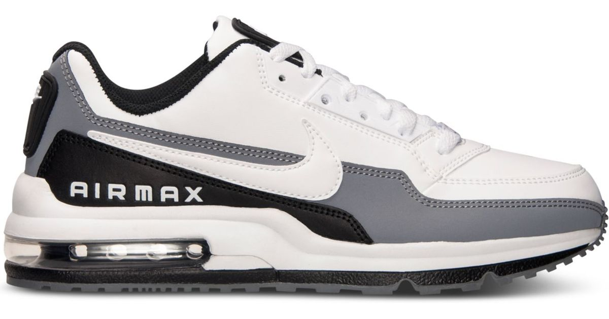 best sneakers cc30d e0487 Lyst - Nike Men s Air Max Ltd 3 Running Sneakers From Finish Line in White  for Men
