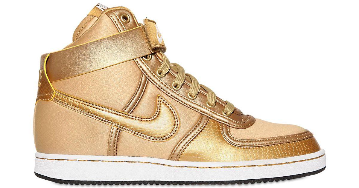 Lyst - Nike Vandal High Top Sneakers in Metallic for Men eadfb4ea4