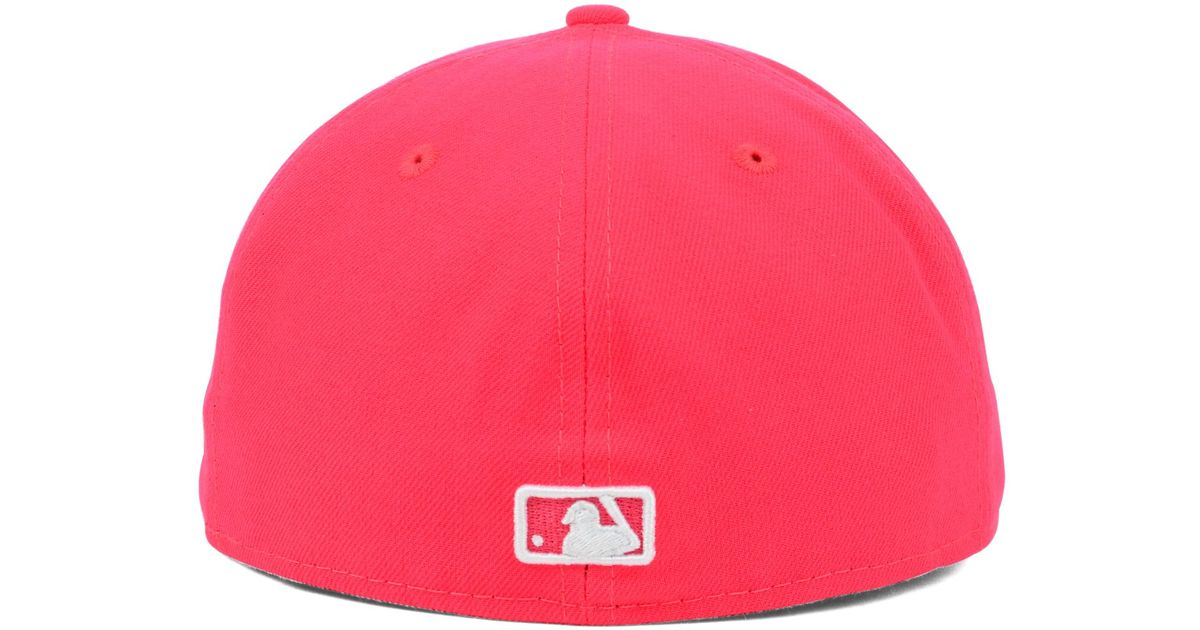 more photos 139b5 d0de5 Lyst - KTZ Houston Astros Mlb C-dub 59fifty Cap in Red for Men