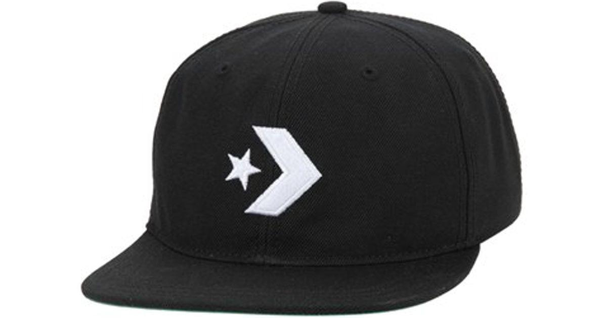 Lyst - Converse Unstructured Ball Cap in Black 5a962b7edf2