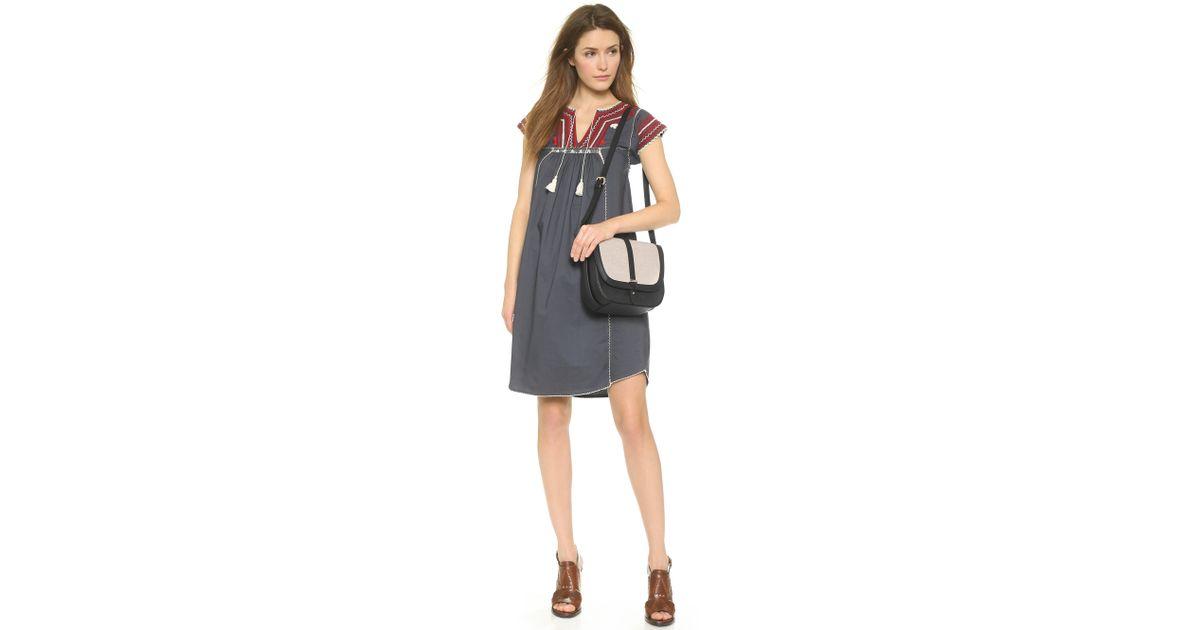 075da3df05 Karen Walker Benah For Bonnie Shoulder Bag - Black Canvas in Black - Lyst