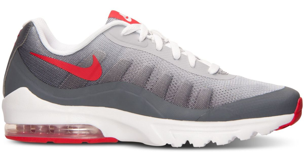 new arrival 03671 b13b9 Nike Men s Air Max Invigor Print Running Sneakers From Finish Line in Red  for Men - Lyst