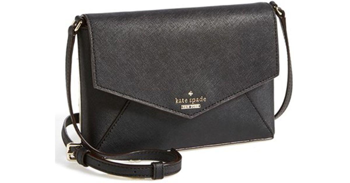 Lyst - Kate Spade Cedar Street Monday Large Leather Bag in White ed108bda12df4