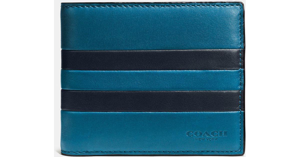 4bc27e1401 usa mens coach wallet blue b9fe2 6e288