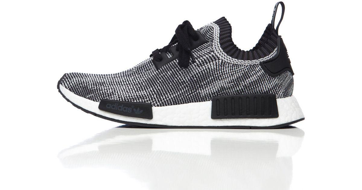 e418003c58614 Lyst - adidas Originals Nmd R1 Primeknit In Core Black grey in Gray for Men