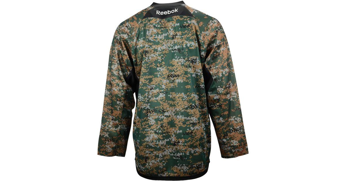 ... buy lyst reebok mens anaheim ducks camo jersey for men 9c6c4 38595 25de53d98