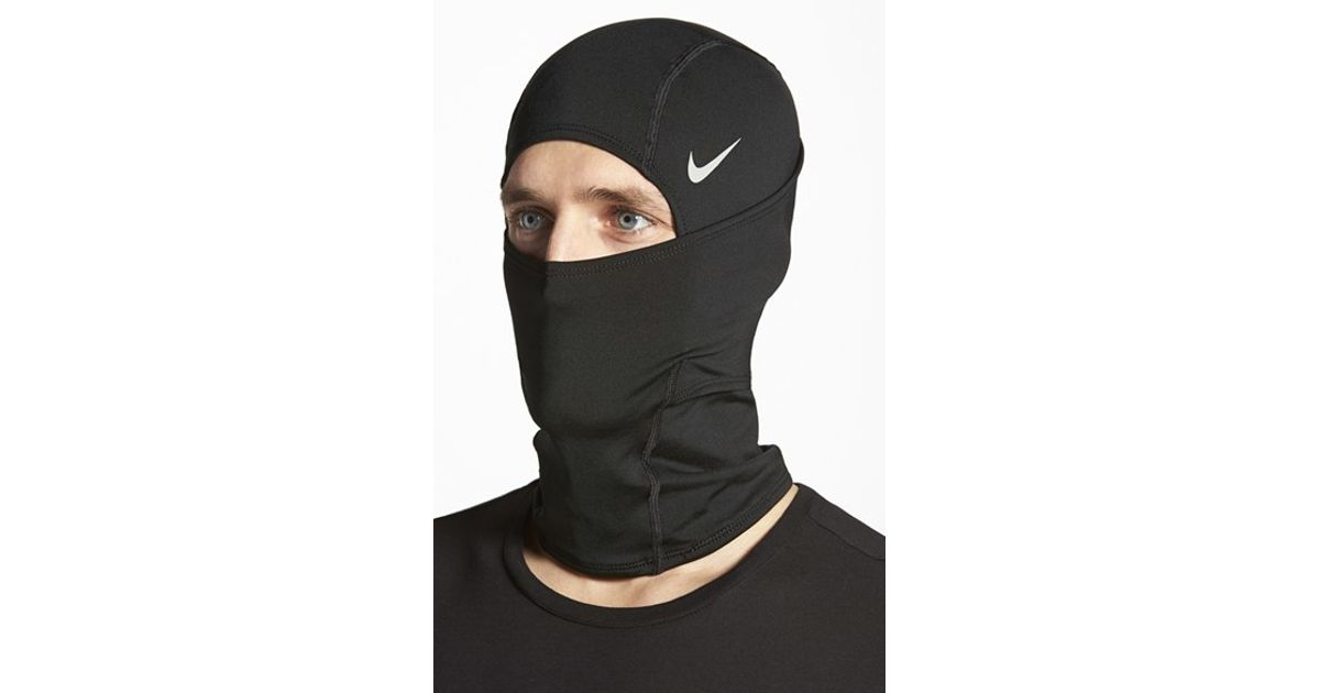 various colors bb29d 3fb97 Nike  pro Combat Hyperwarm Hydropull  Hood in Black for Men - Lyst
