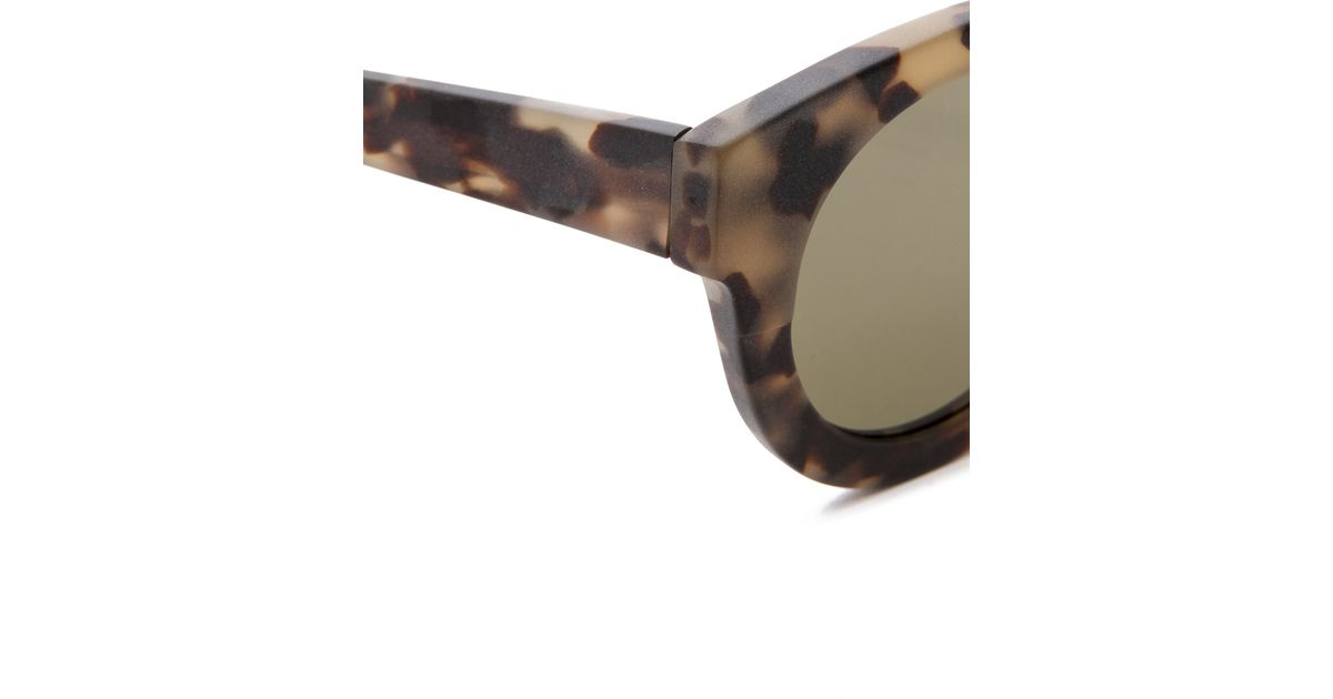Lyst - 3.1 Phillip Lim Thick Frame Sunglasses in Natural