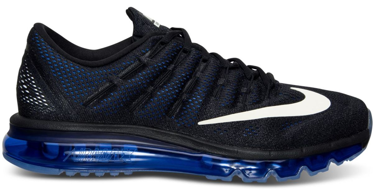 ... coupon code lyst nike mens air max 2016 running sneakers from finish  line in black for a39e17636