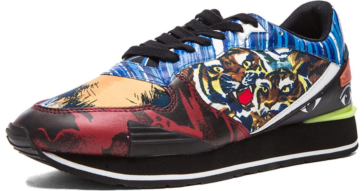 4d05af4825ad Lyst - KENZO Mens Running Sneaker
