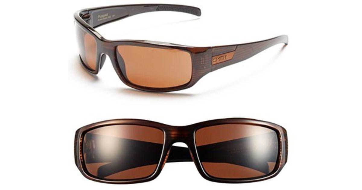 d5aa61f206 Smith Optics  prospect  61mm Polarized Sunglasses in Brown - Lyst