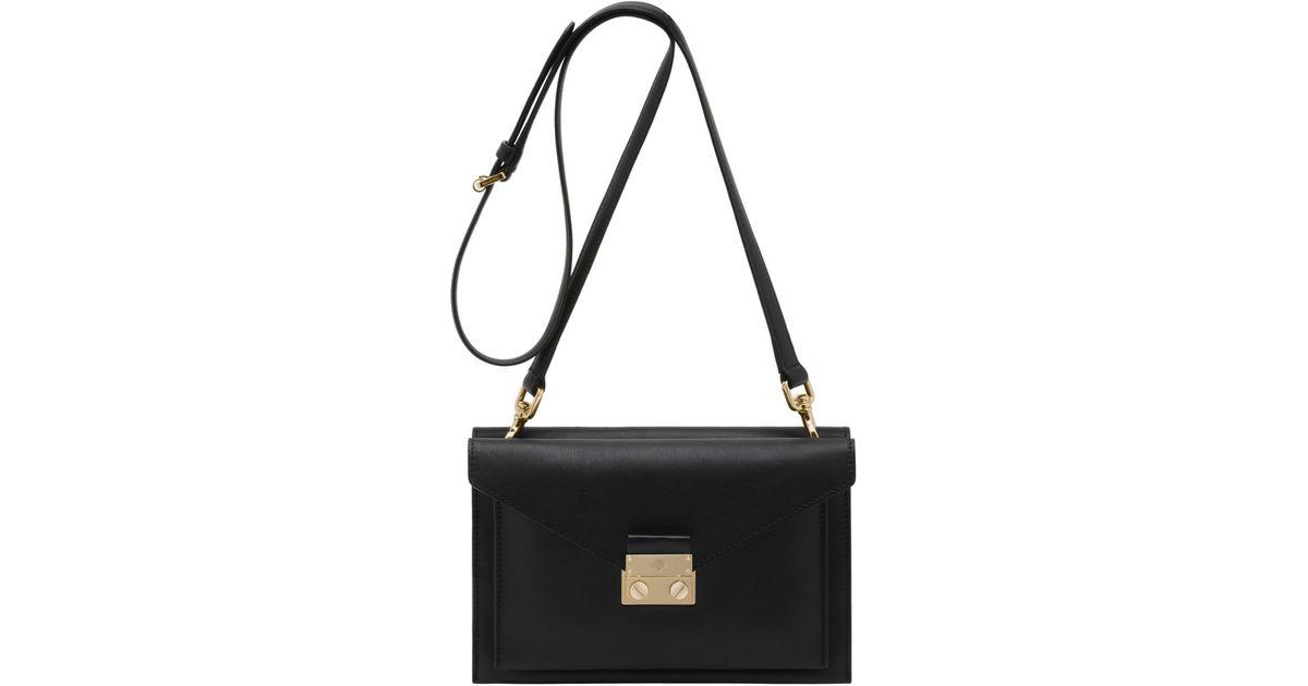 Mulberry - Black Kensal Small Shoulder Bag - Lyst 5989f3a16ddb4
