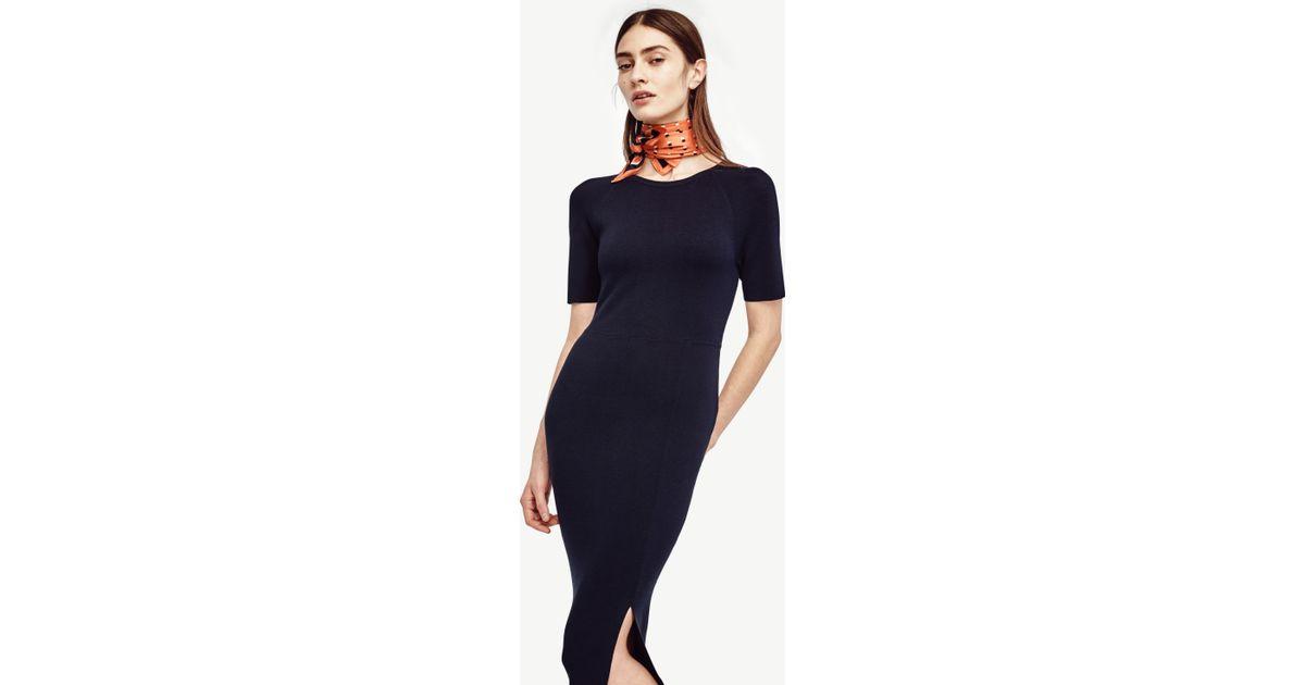 Short Sleeve Sweater Dress