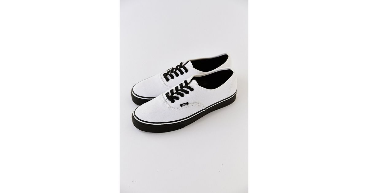 vans authentic black bone