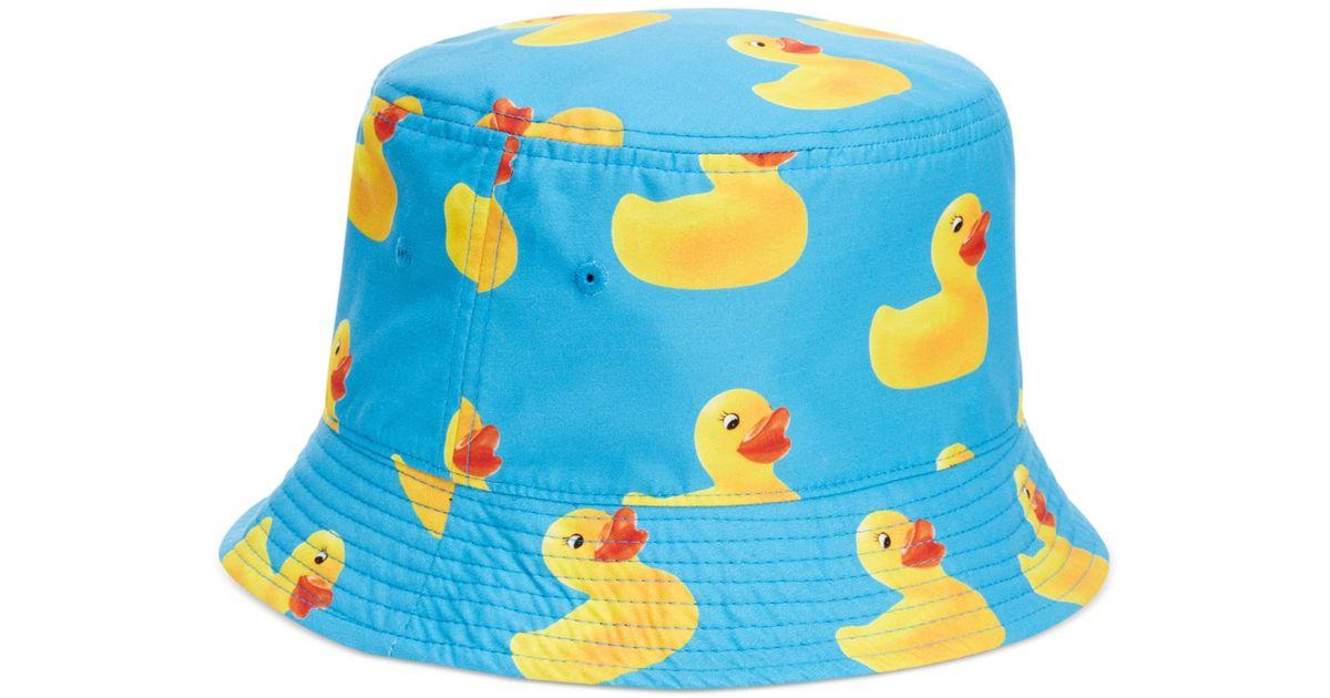 Lyst - Neff Ducky Reversible Bucket Hat in Blue for Men e115bd4576c