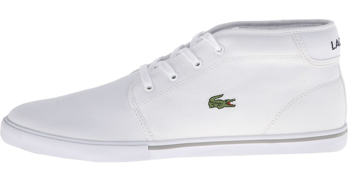4a4b2e9e7274 Lyst - Lacoste Ampthill Lcr 2 in White for Men