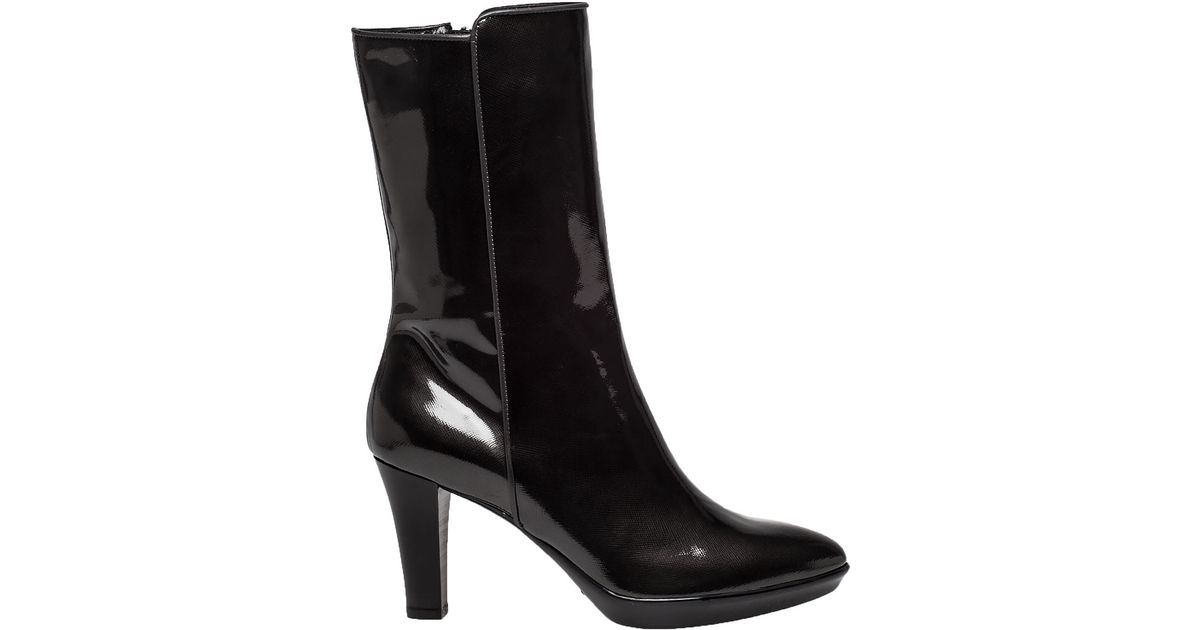 aquatalia raia patent leather water resistant boots in