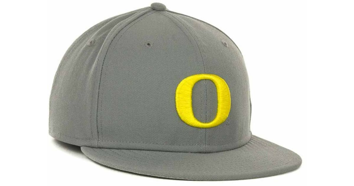 pretty nice 2a39d 74436 ... official store lyst nike oregon ducks ncaa team sports authentic fitted  cap in gray for men
