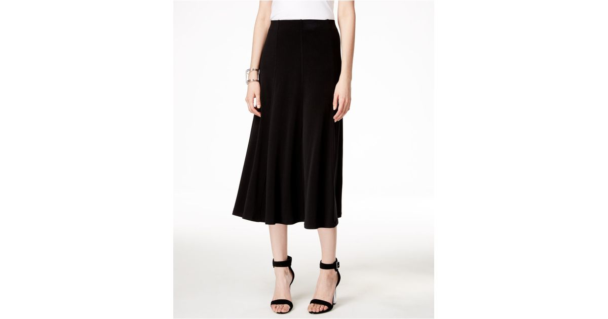 alfani pull on a line skirt only at macy s in