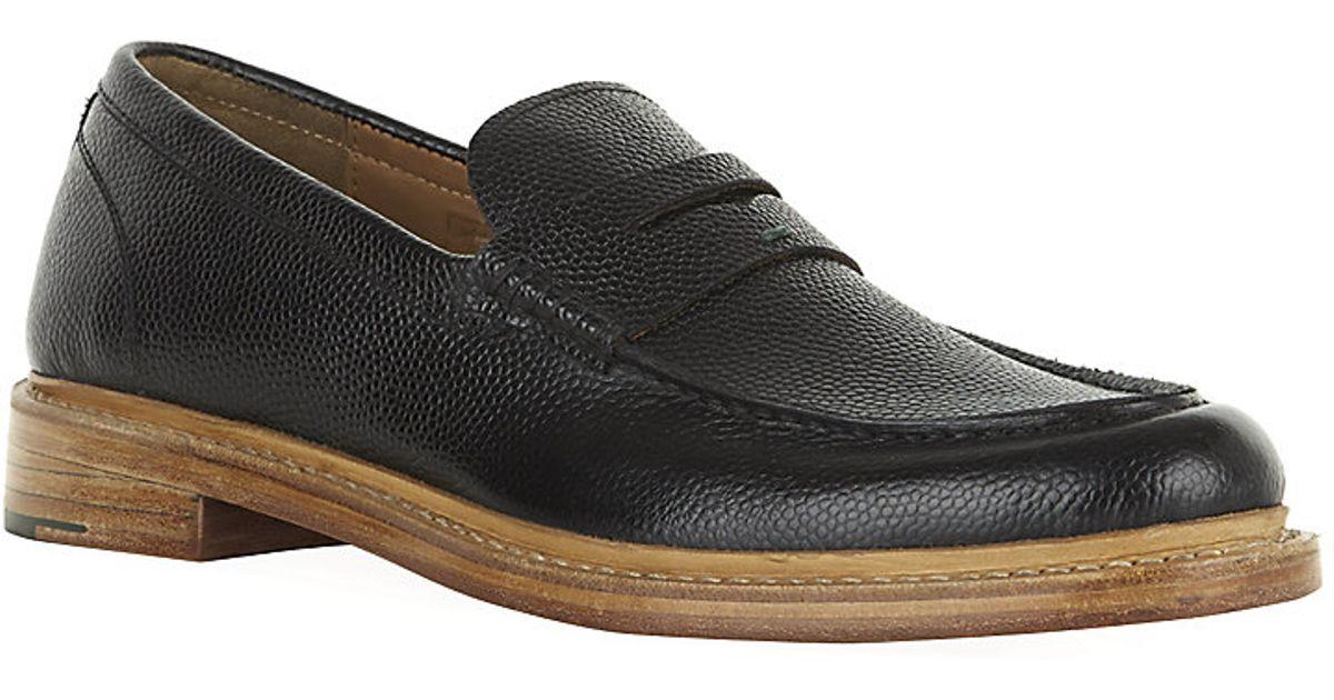 Kurt Geiger Douglas Loafer Shoes In Black For Men Lyst