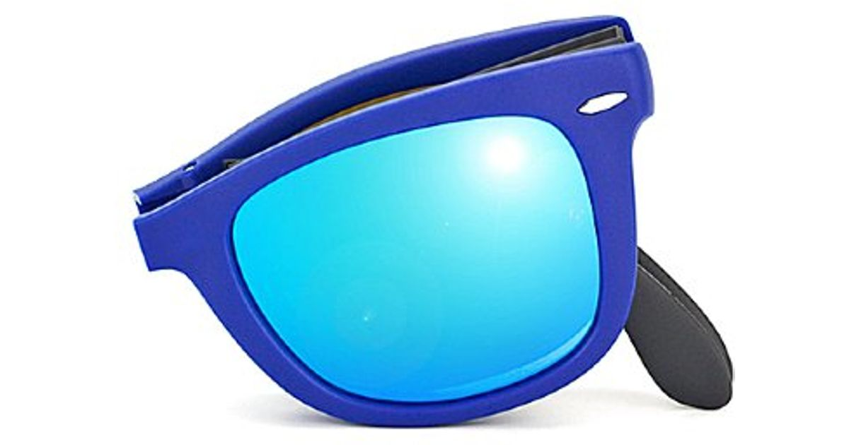 600547d302 Ray-Ban Rb 4105 602017 Matte Blue Plastic Sunglasses-50mm in Blue for Men -  Lyst