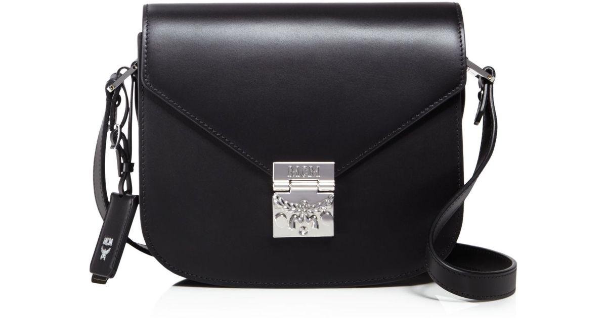 Mcm Black Patricia Shoulder Bag