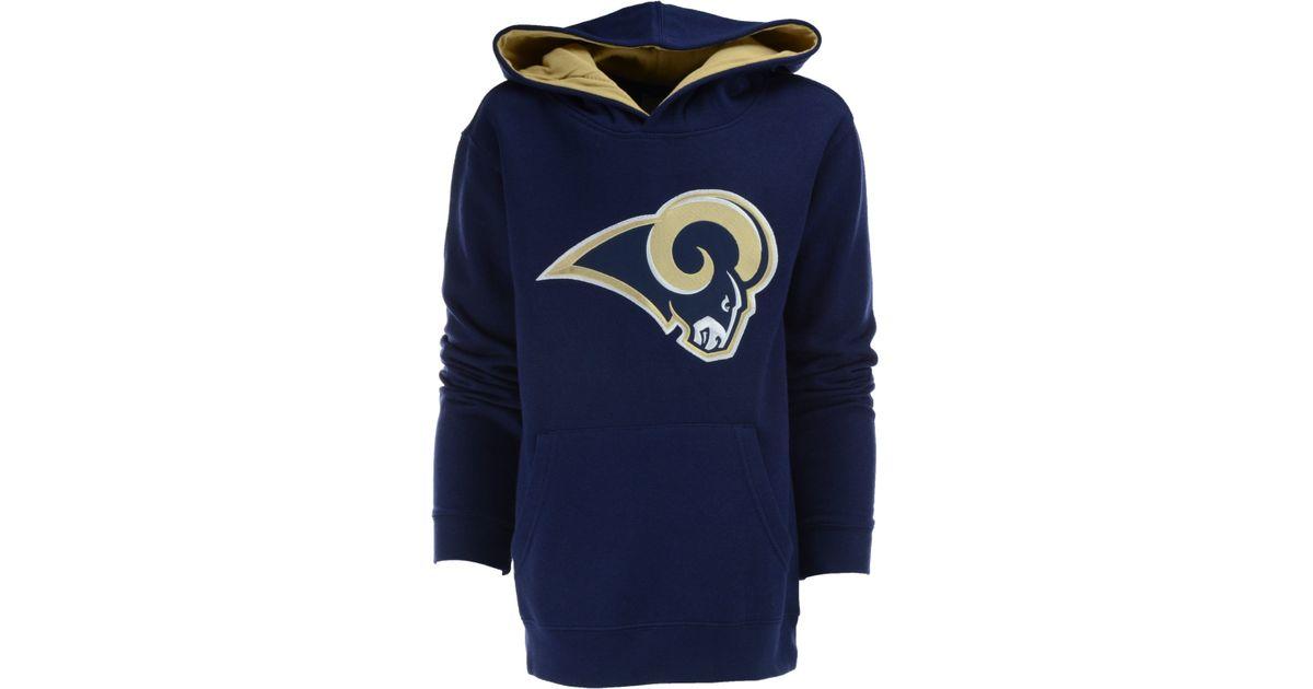 d049de6a5a18 Lyst - Outerstuff Boys  Los Angeles Rams Sportsman Hoodie in Blue for Men