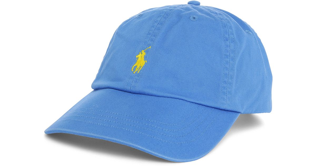 polo ralph lauren blue classic cap in blue for men lyst. Black Bedroom Furniture Sets. Home Design Ideas