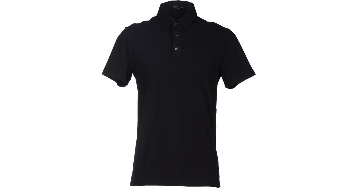 Express Polo Shirt In Black For Men Save 38 Lyst