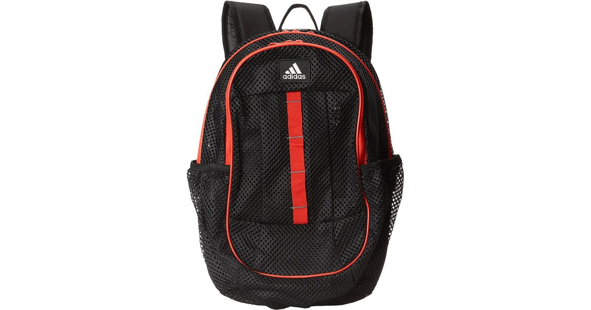 a3631b6ceb Lyst - adidas Hermosa Mesh Backpack in Red for Men