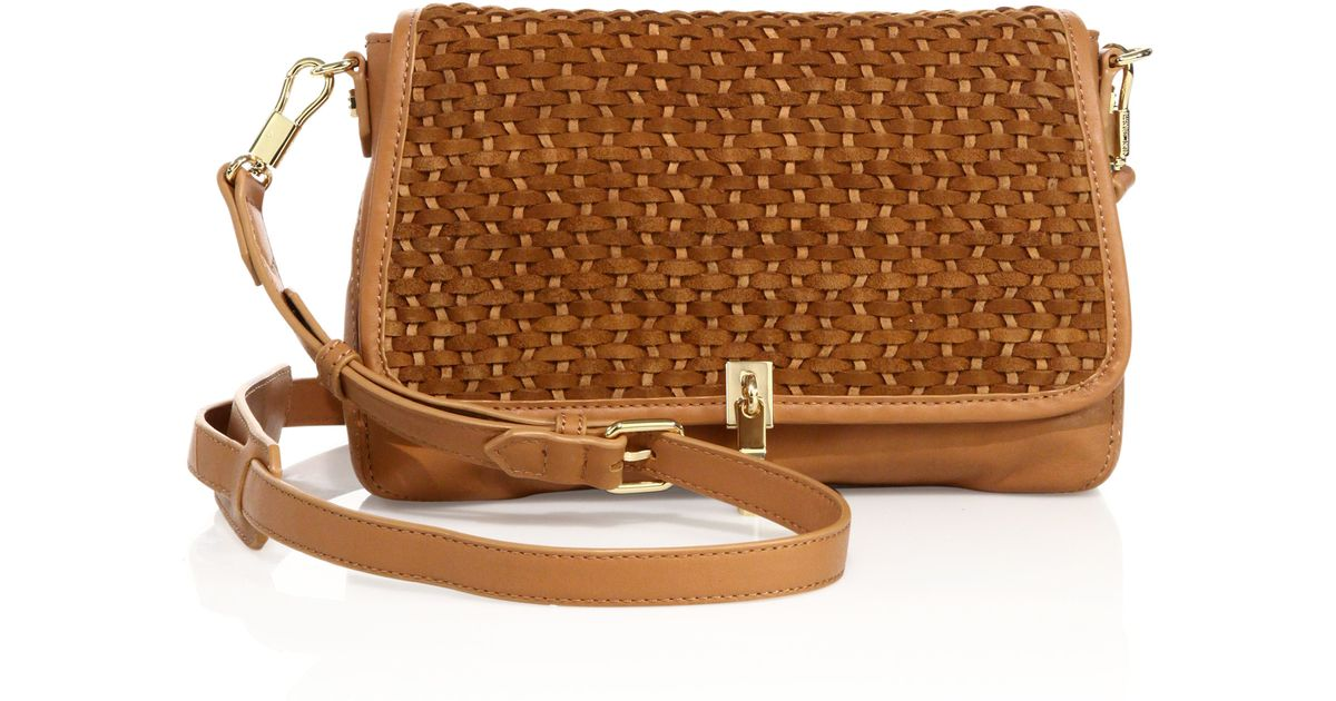 Elizabeth and James Woven Convertible Shoulder Bag Low Cost Sale Inexpensive From China Cheap Online HBjYsNYV