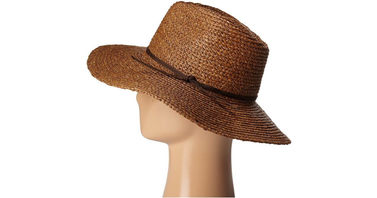 9b2fad7763de8 ... cheap lyst brixton bristol hat in brown e5f4b 01fd8